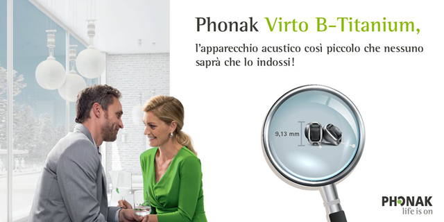 Phonak Virto B-Titanium: intervista all'audioprotesista Otoplus Alessandra Padovani