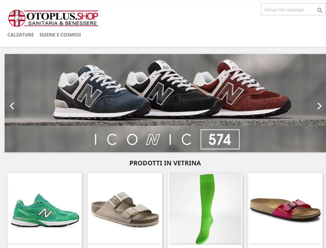 Otoplus Sanitaria è ora anche Shop Online con tanti prodotti per il benessere di tutta la famiglia