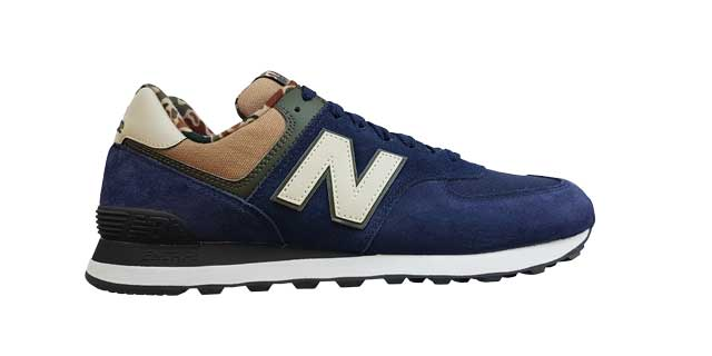 574 ICONIC NEW BALANCE: speciale texture camouflage