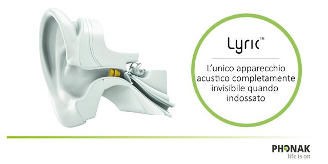 È arrivato Lyric4, l'ultima versione dell'apparecchio acustico di Phonak invisibile quando indossato